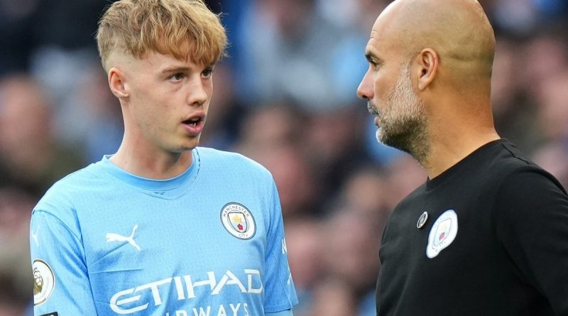 Guardiola tips SIX Man City youngsters to follow Cole Palmer into first-team XI