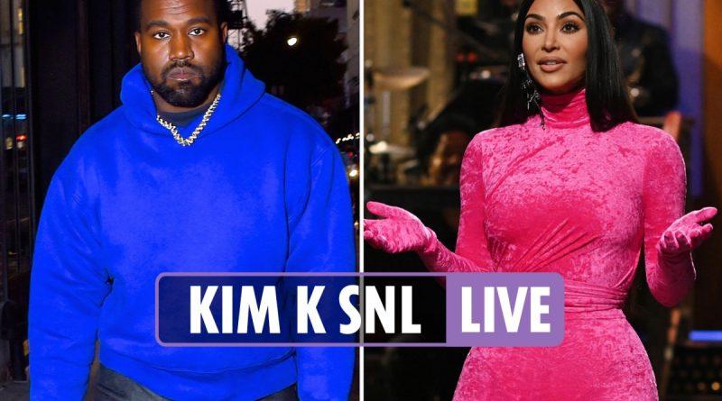 Kim Kardashian impersonates sister Kourtney & boyfriend Travis in SNL debut