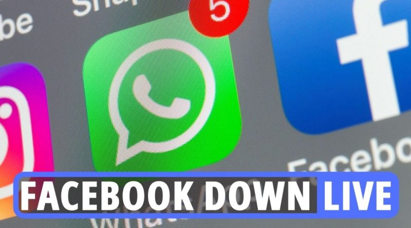 Live updates as Facebook, Whatsapp and Snapchat all down for millions of users