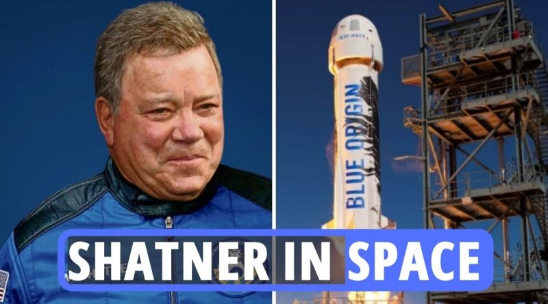 Live updates as Star Trek's William Shatner, 90, goes to SPACE with Jeff Bezos