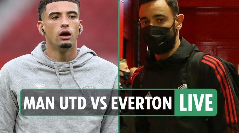 Man Utd vs Everton LIVE: Follow all the latest from Premier League clash