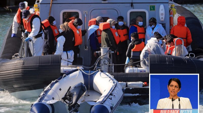 Military called in to deal with Channel migrant crisis, Priti Patel reveals