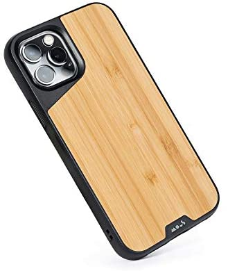 Mous - Protective Case for iPhone 12 Pro Max - Limitless 4.0 - Bamboo - Fully compatible with Apple's MagSafe
