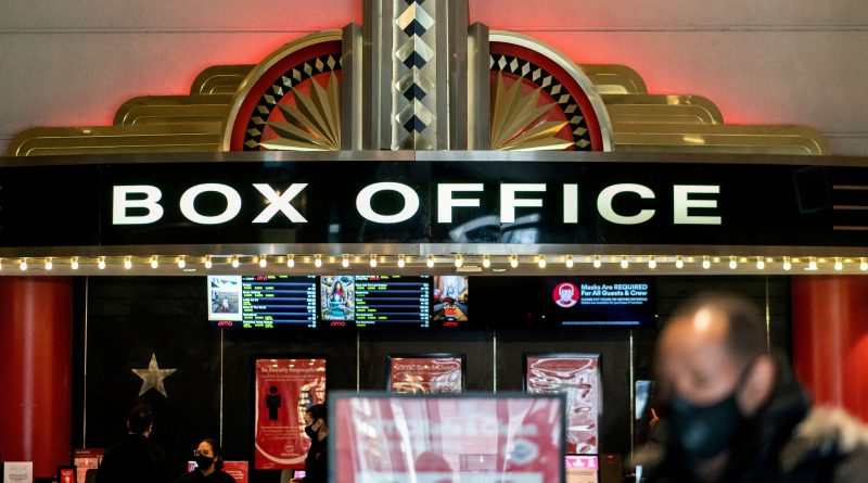 Movie ticket sales have topped 2020's paltry box office, but still trail 2019's haul by 70%