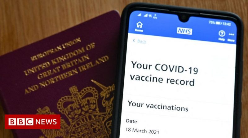 NHS Covid Pass: Vaccine records access restored after outage