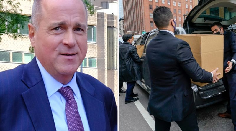 NYPD sergeants union's firebrand chief RESIGNS after dramatic FBI raid