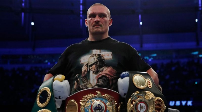 Oleksandr Usyk backed to beat Tyson Fury and Deontay Wilder after pair's trilogy