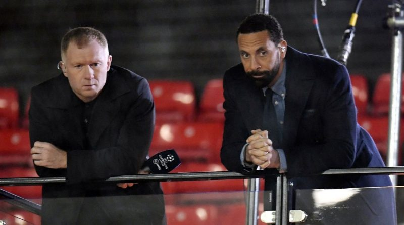 Paul Scholes and Rio Ferdinand left bickering on Man Utd's stunning comeback win