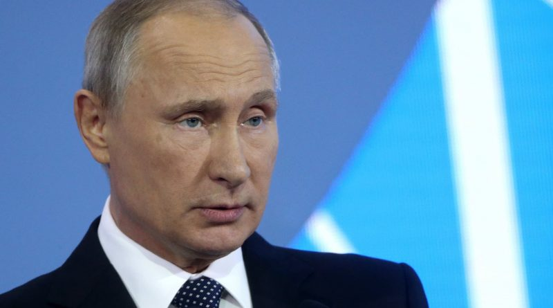 Putin says Russia is not using gas as a weapon, stands ready to aid Europe