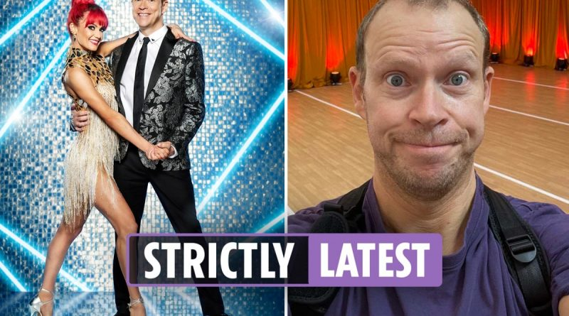 Robert Webb dramatically QUITS Strictly after being taken ill with heart worries