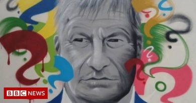 Sir David Amess death: Mural appears at Leigh-on-Sea skatepark