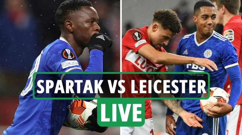 Spartak Moscow vs Leicester LIVE: Latest updates from Europa League match