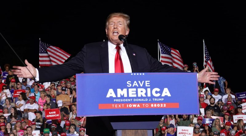 Trump announces social media platform launch plan, SPAC deal