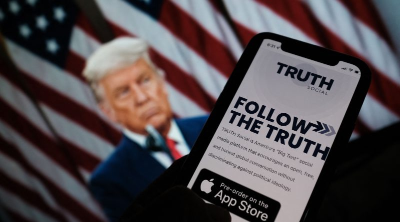 Trump's social media SPAC surges another 100% after shares quadruple