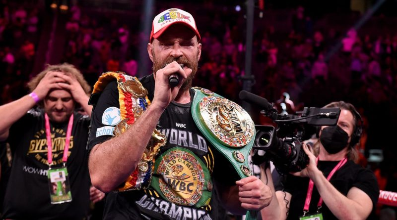 Tyson Fury's latest comments cast doubt over future meeting with Anthony Joshua