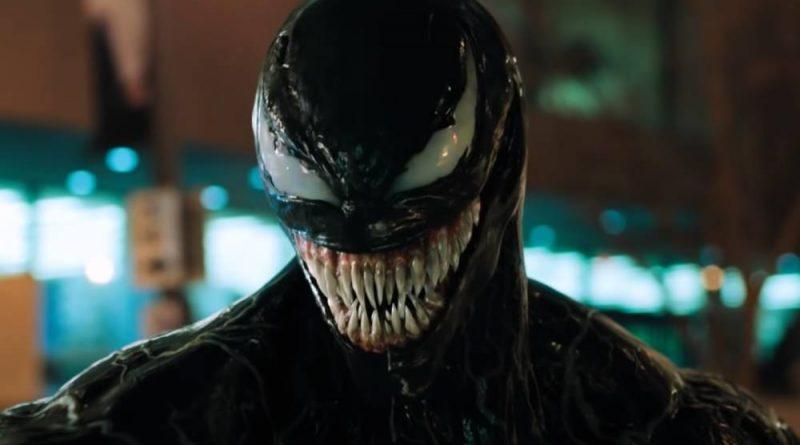 A picture of Venom from the 2018 movie Venom