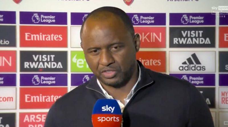 Vieira responds to Emirates reception as Arsenal legend nearly spoils homecoming